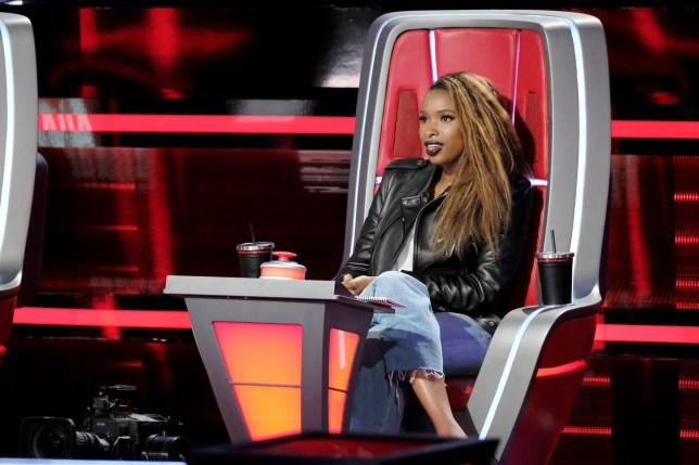 Jennifer Hudson on The Voice