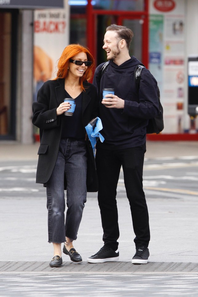EXCLUSIVE: *NO WEB UNTIL MON 6TH MAY 2019* ??500 per pic / ??1,000 (double front page) set fee print and online. *NO WEB UNTIL MON 6TH MAY 2019* Strictly's Stacey Dooley and Kevin Clifton spotted spending time together in London Pictured: Kevin Clifton,Stacey Dooley Ref: SPL5086245 050519 EXCLUSIVE Picture by: SplashNews.com *NO WEB UNTIL MON 6TH MAY 2019* ??500 per pic / ??1,000 (double front page) set fee print and online. Splash News and Pictures Los Angeles: 310-821-2666 New York: 212-619-2666 London: 0207 644 7656 Milan: 02 4399 8577 photodesk@splashnews.com World Rights