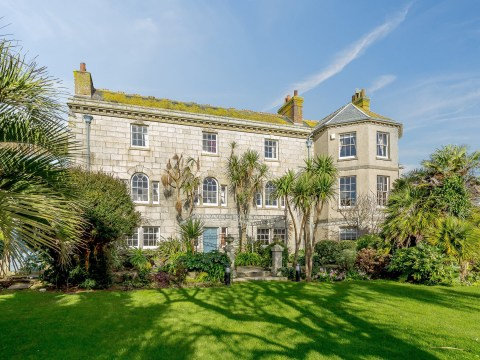 A stunning seven-bed manor house on the Cornish coast is on the market for £2.5 million