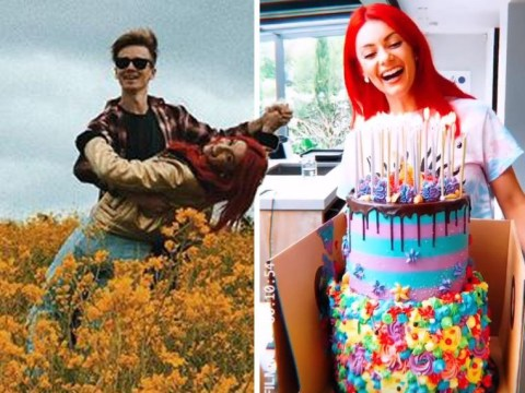 Joe Sugg celebrates Dianne Buswell's 30th with insane looking under the sea birthday cake