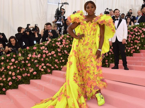 Serena Williams puts comfort first as she slays Met Gala red carpet in trainers