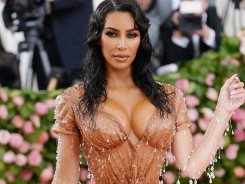 Kim Kardashian laughs off joke about 'removing ribs to fit into outfits' as she gets honest about figure
