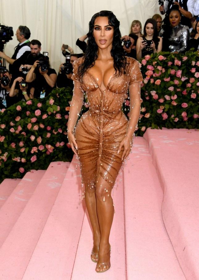 Kim Kardashian-West attending the Metropolitan Museum of Art Costume Institute Benefit Gala 2019 in New York, USA. PRESS ASSOCIATION Photo. Picture date: Monday May 6, 2019. See PA story SHOWBIZ MET Gala. Photo credit should read: Jennifer Graylock/PA Wire