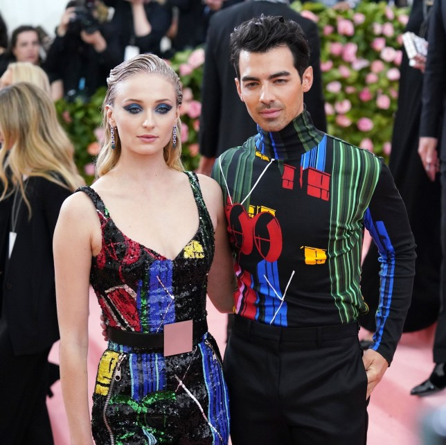 Sophie Turner Joe Jonas at Met Gala