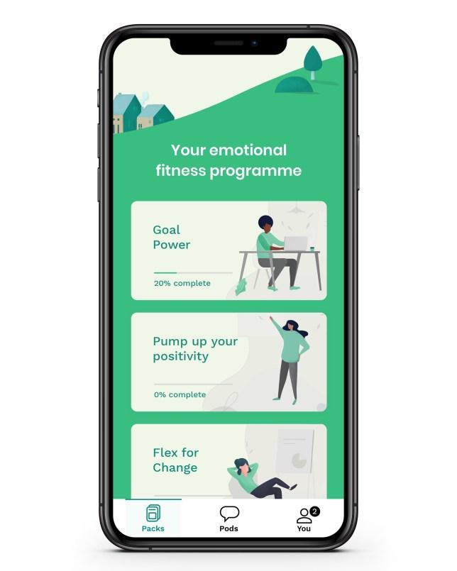 Picture: Fika FIKA - Emotional fitness app pics