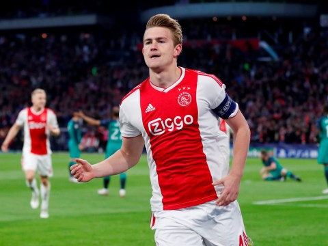 Matthijs de Ligt breaks silence on Ajax future amid Manchester United and Liverpool rumours