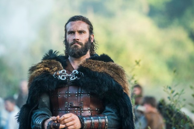 Picture: History Vikings star Clive Standen celebrates as Council Of Dads gets picked up to series