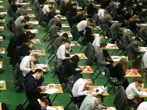 Teachers asking children how they are feeling about exams is making them anxious