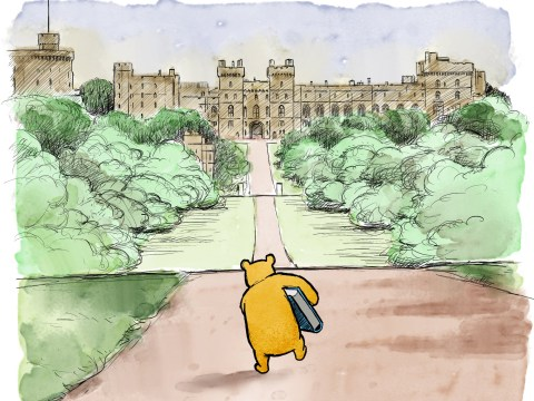 Winnie-The-Pooh celebrates birth of Royal baby as beloved character visits Harry and Meghan and we're crying