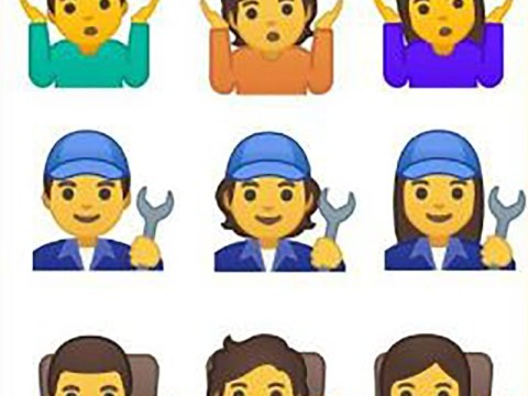 Google releases 53 gender-neutral emojis to challenge 'man-centered culture'