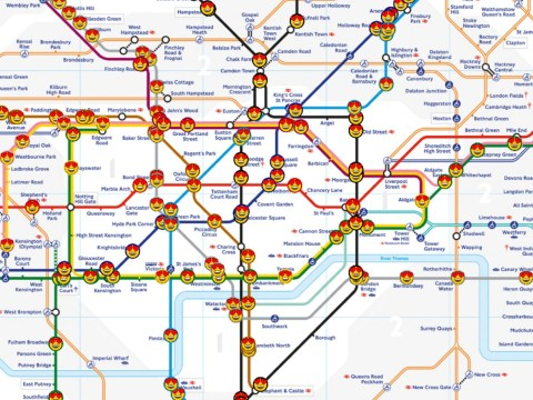 Live tube map shows where every underground train is at once