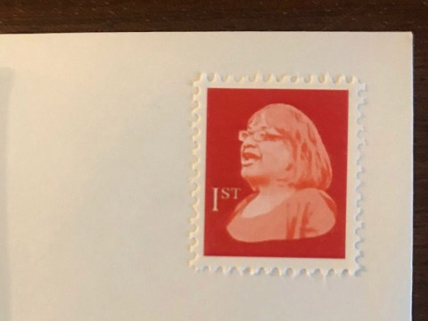 Fake stamps with Diane Abbott's face on them 'making way through post'