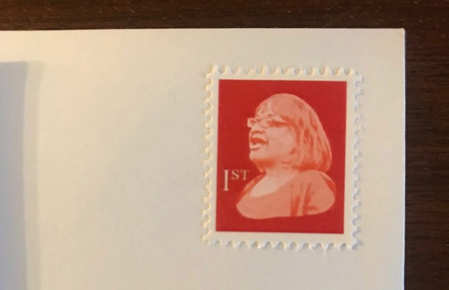 Handout - Troubled Postie Royal Mail investigating Diane Abbott stamp 'circulating through postal network'