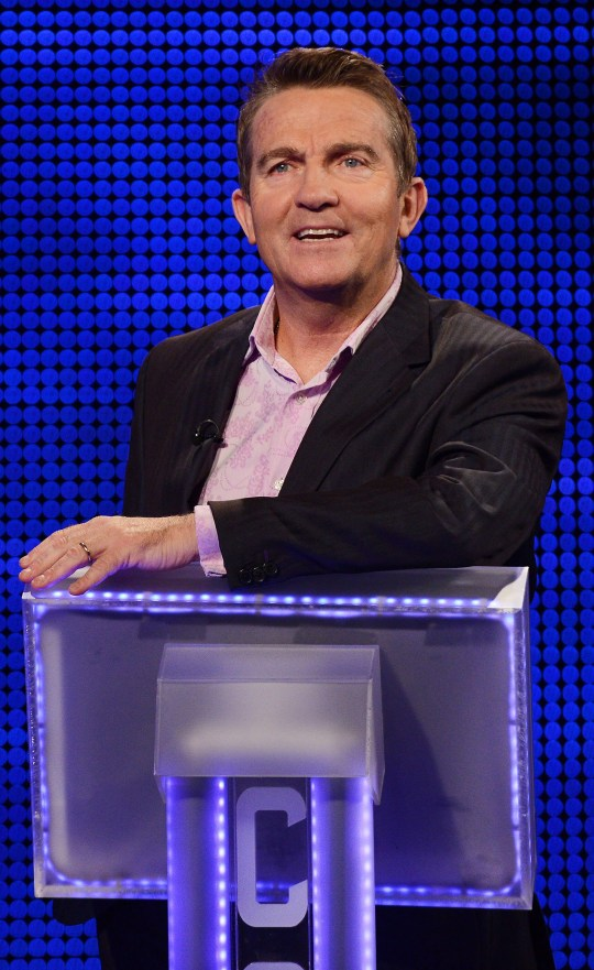 Bradley Walsh is the host of The Chase