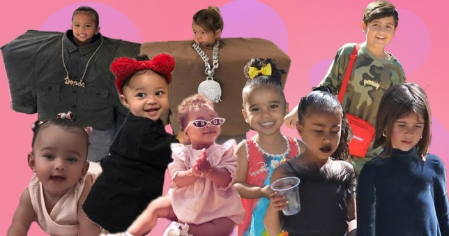 How many kids are in the Kardashian family, as Kim's