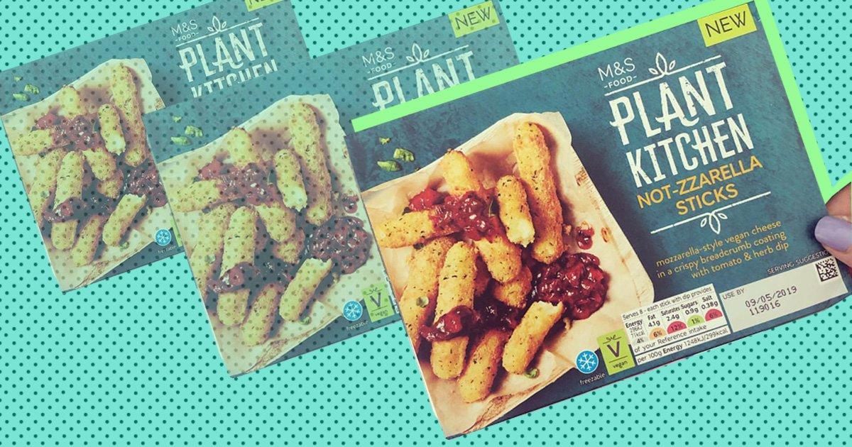 Marks and Spencer is launching vegan 'Not-zarrella Sticks'