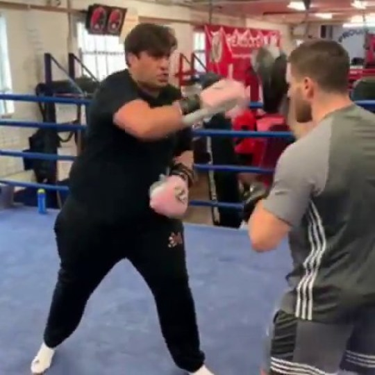james argent boxing weight loss 10 stones 17 inches off waist gemma collins towie