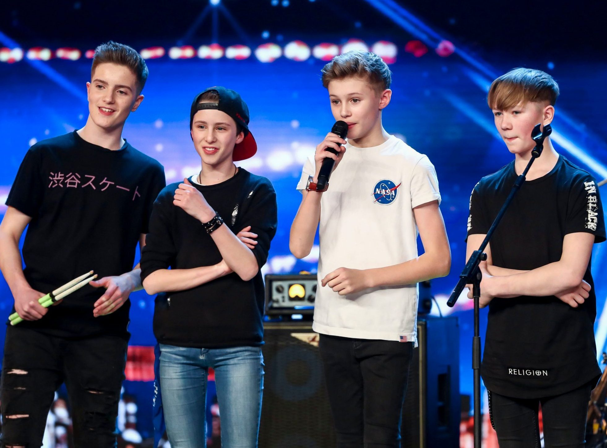 Britain's Got Talent viewers brand show 'a farce' as West End performers Chapter 13 land golden buzzer