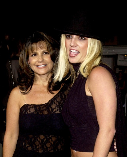 Mandatory Credit: Photo by Chris Weeks/BEI/REX/Shutterstock (390019p) BRITNEY SPEARS AND MOTHER LYNN SPEARS 'THE FOUR FEATHERS' FILM PREMIERE, LOS ANGELES, AMERICA - 17 SEP 2002