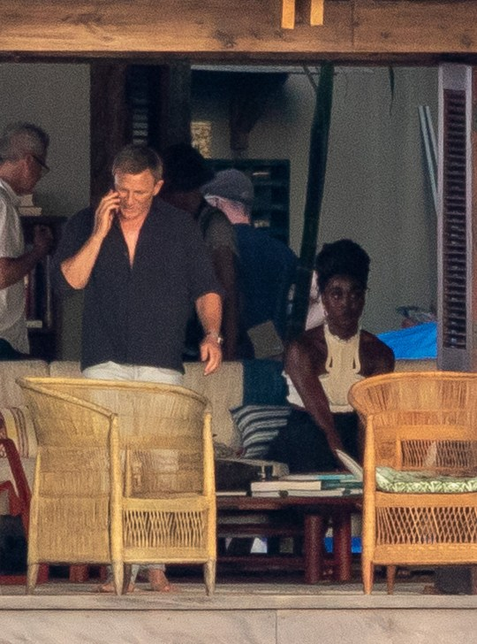 Daniel Craig films Bond 25 scenes alongside new Bond Girl Lashana Lynch in Jamaica