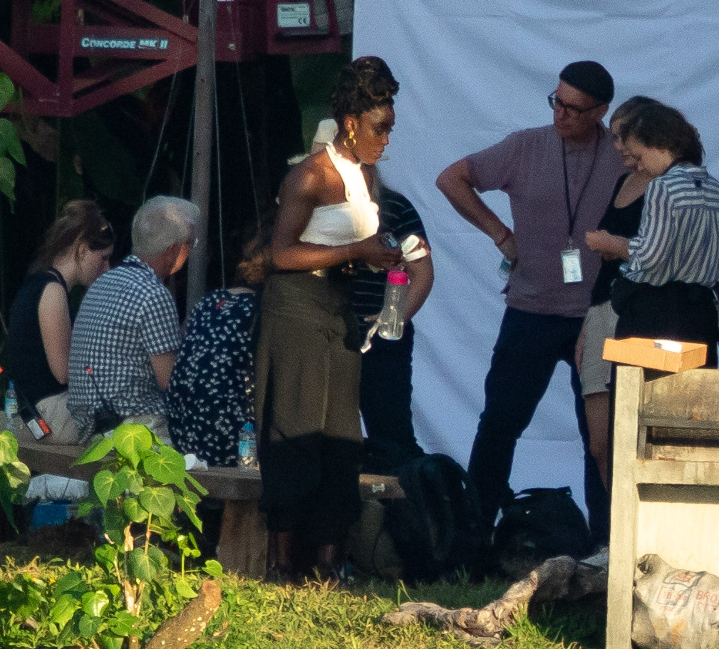 Lashana Lynch films Bond 25 scenes in Jamaica