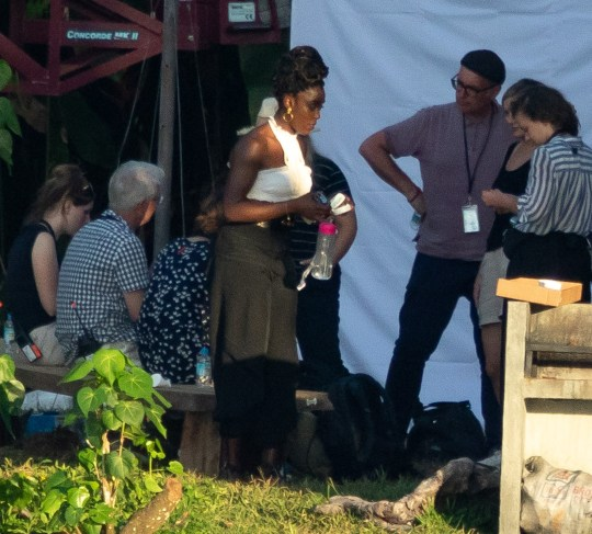 Lashana Lynch films Bond 25 scenes in Jamaica