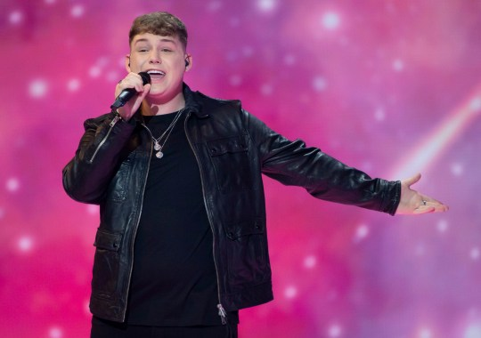 Michael Rice, representing UK, rehearsing for the second time for the final of the Eurovision song contest 2019. Pictured: Ref: SPL5088817 120519 NON-EXCLUSIVE Picture by: SplashNews.com Splash News and Pictures Los Angeles: 310-821-2666 New York: 212-619-2666 London: 0207 644 7656 Milan: 02 4399 8577 photodesk@splashnews.com World Rights,