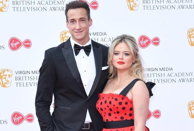 Emily Atack and Rob Jowers split