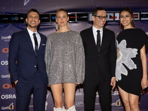 Meet the four presenters of The Eurovision Song Contest 2019