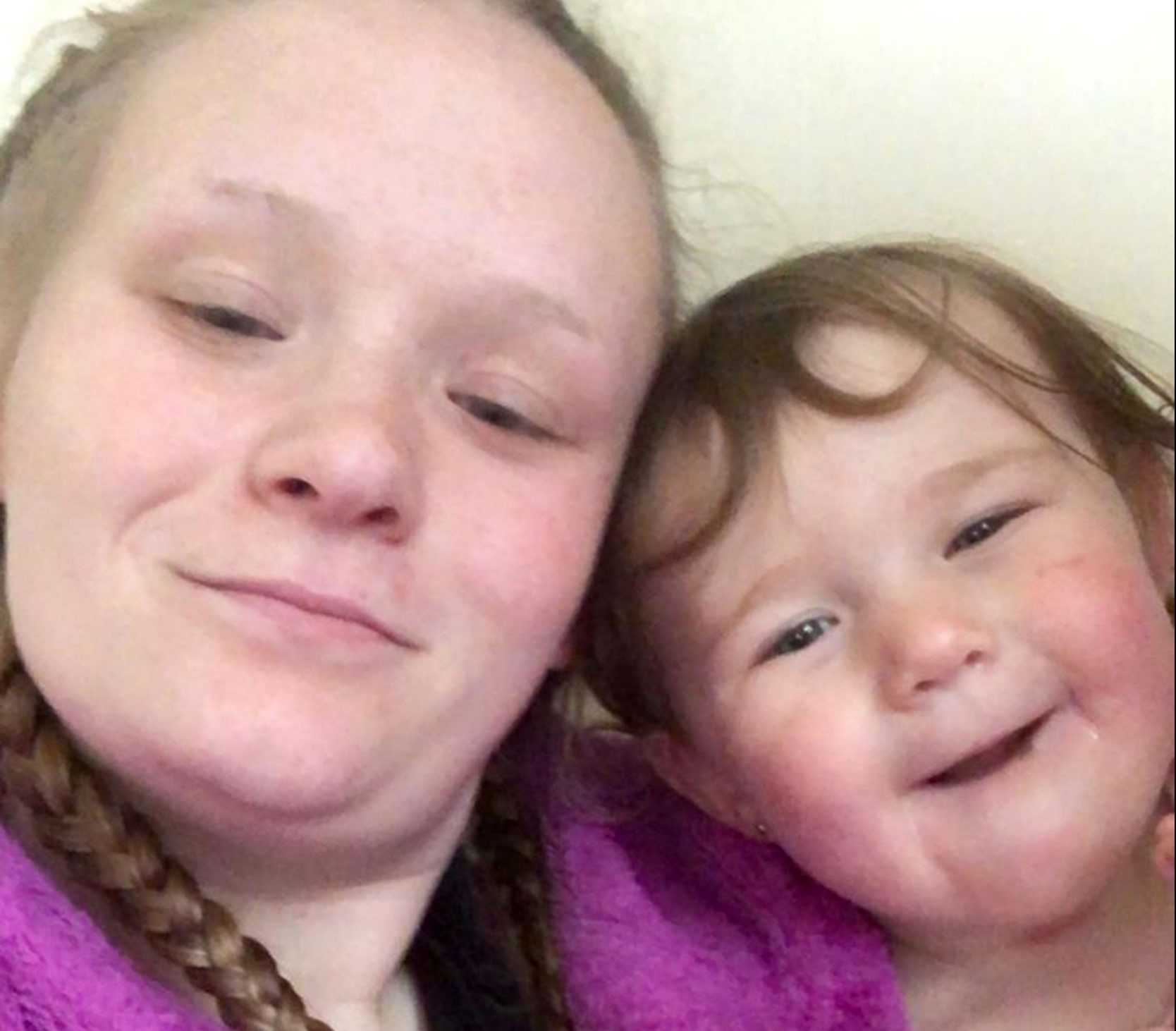 PIC FROM Mercury Press - (PICTURED: Mum Cathryn Raine with daughter Freya Yhia-Raine.) - A traumatised toddler was left with a huge purple bruise on her ear after she was viciously attacked by a SEAGULL which tried to steal her Gregg's pasty. One-year-old Freya Yhia-Raine had just begun tucking into the tasty treat when the seagull dived into her pushchair and tried to take the pastry out of her mouth. Mum Cathryn Raine, 23, said the tot was determined to hold on to the cheese pasty and the ensuing tussle left her with a large painful bruise covering her left ear.SEE MERCURY COPY
