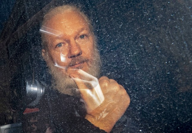 File photo dated 11/04/19 of Julian Assange. Swedish prosecutors are to reopen an investigation into a rape allegation against WikiLeaks founder Julian Assange, deputy director of prosecutions Eva-Marie Persson announced. PRESS ASSOCIATION Photo. Issue date: Monday May 13, 2019. Swedish prosecutors dropped investigation in 2017 because they were unable to proceed while he remained inside the Ecuadorian embassy. See PA story LEGAL Assange. Photo credit should read: Victoria Jones/PA Wire