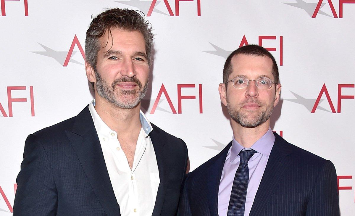 GOT Writer/producers David Benioff and DB Weiss