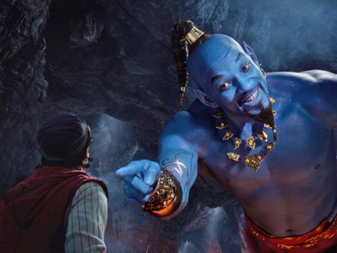 Who is in the Aladdin 2019 cast and when is the UK release date?