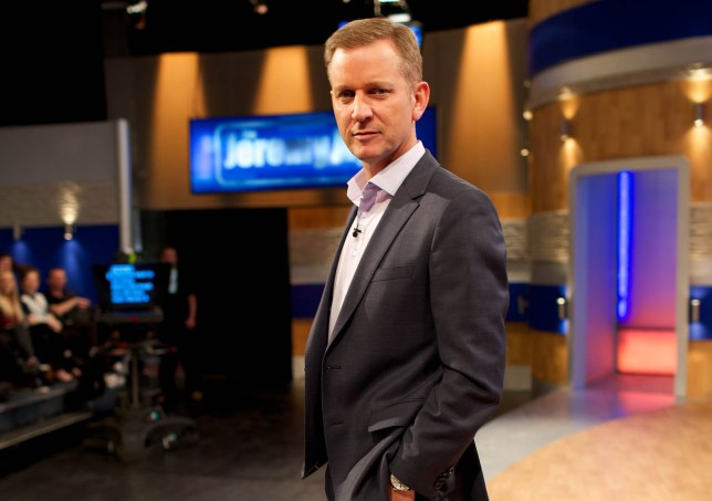 Jeremy Kyle on set