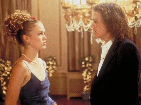 Heath Ledger had to teach Julia Stiles how to act drunk in 10 Things I Hate About You