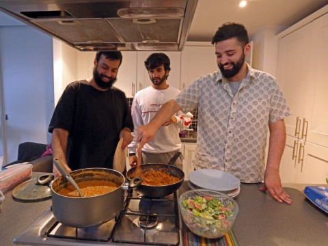 Muslims Who Fast: Harry, Ilyas, and Junaid show us what iftar away from home looks like