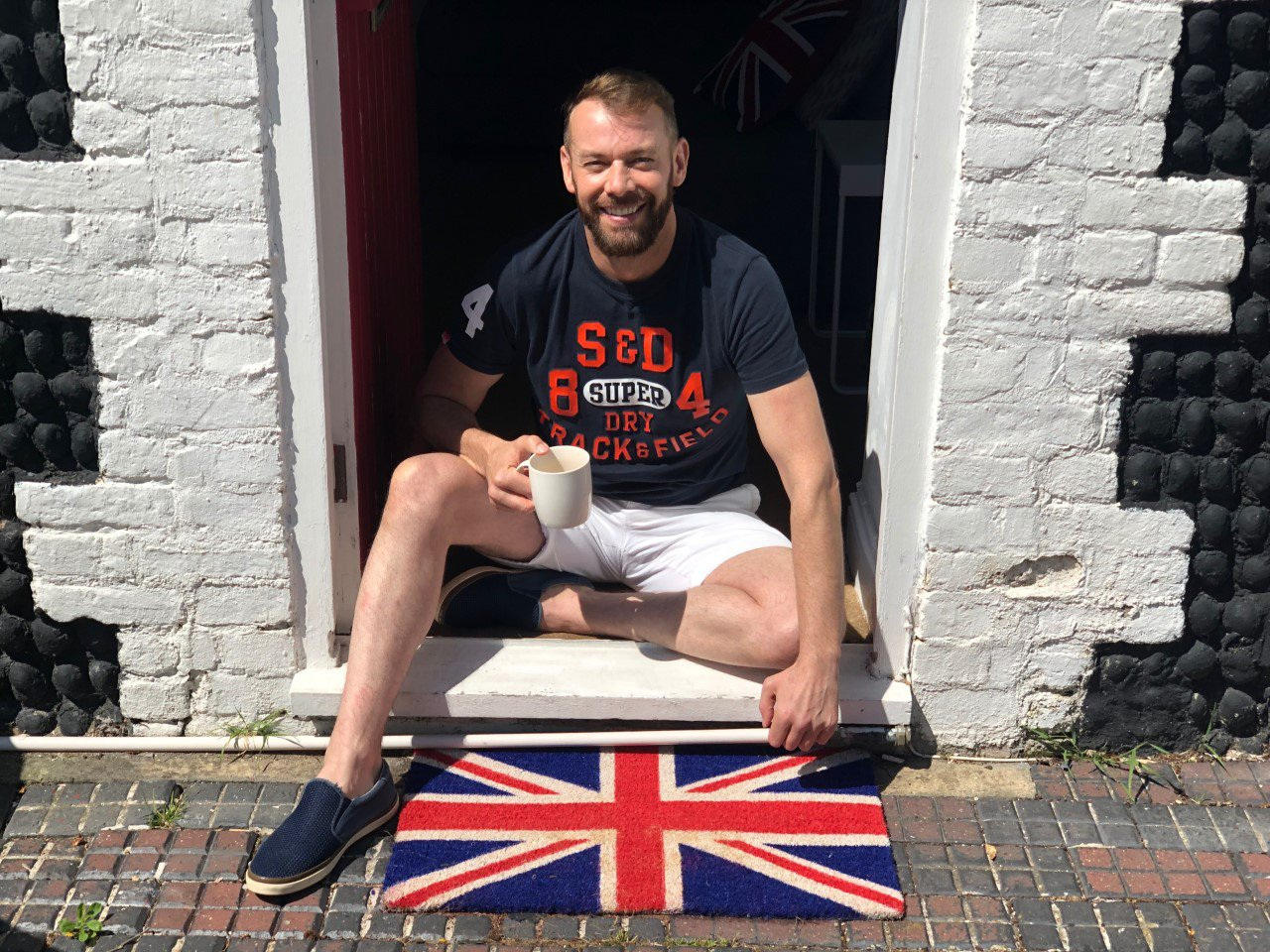 Man called racist because he's got a Union Flag doormat