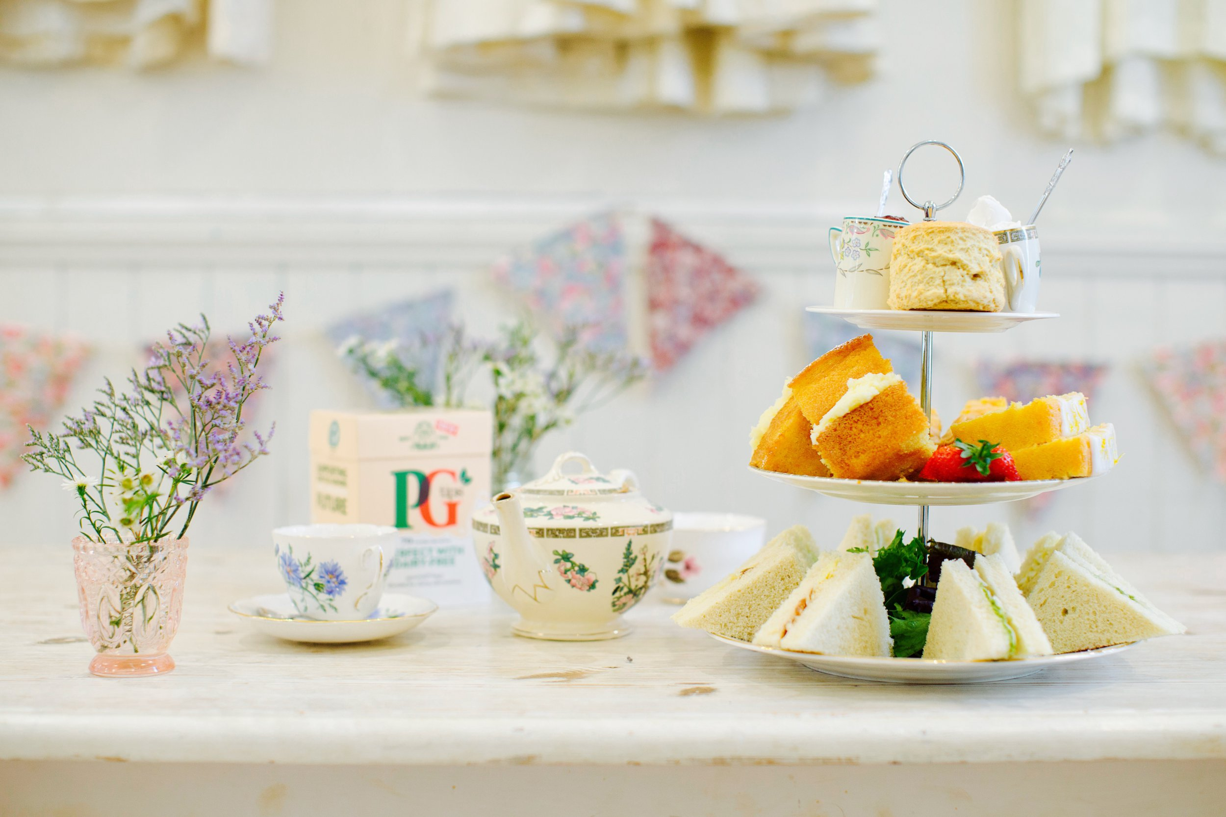 You can get a free afternoon tea across the UK next week
