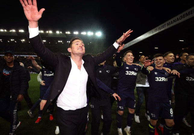 Frank Lampard has steered Derby to the Championship play-off final