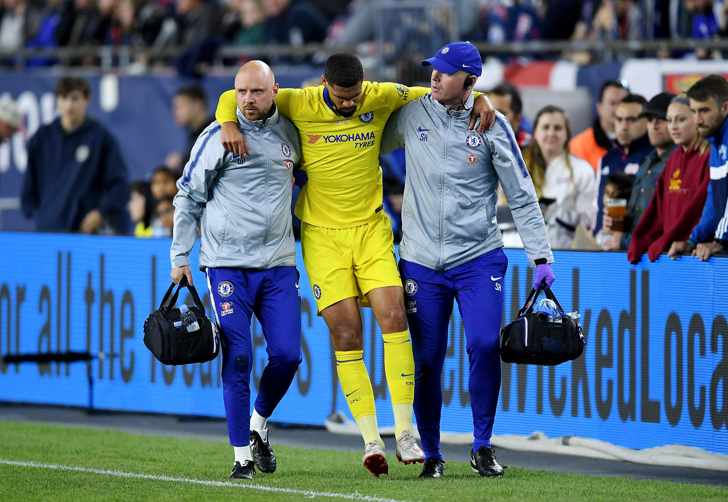 Chelsea confirm Ruben Loftus-Cheek will miss the Europa League final after rupturing his Achilles