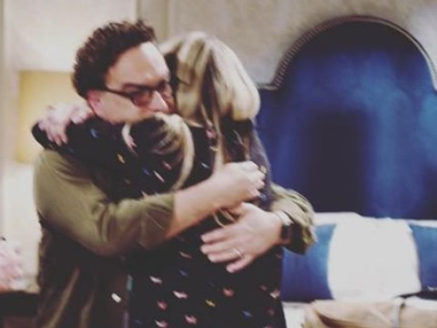 The Big Bang Theory's Johnny Galecki shares emotional pictures of Leonard and Penny's final scene