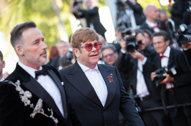 "BGUK_1591260 - ** RIGHTS: ONLY UNITED KINGDOM ** Cannes, UNITED KINGDOM - Celebrities attend the screening of ""Rocketman"" during the 72nd annual Cannes Film Festival in Cannes, France. Pictured: Elton John, David Furnish BACKGRID UK 16 MAY 2019 BYLINE MUST READ: BEST IMAGE / BACKGRID UK: +44 208 344 2007 / uksales@backgrid.com USA: +1 310 798 9111 / usasales@backgrid.com *UK Clients - Pictures Containing Children Please Pixelate Face Prior To Publication*"