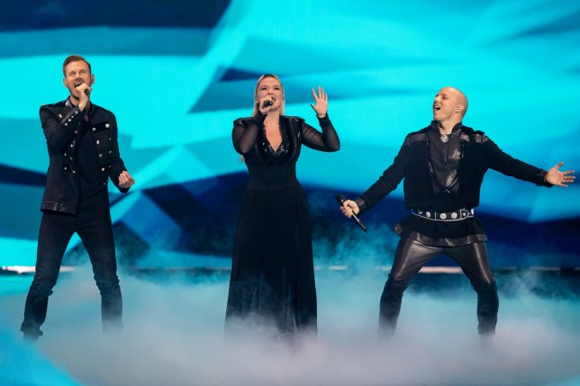 TEL AVIV, ISRAEL - MAY 16: (l-R) Tom Hugo Hermansen, Alexandra Rotan & Fred Buljo of KEiiNO from Norway performs during the 64th annual Eurovision Song Contest held at Tel Aviv Fairgrounds on May 16, 2019 in Tel Aviv, Israel. (Photo by Guy Prives/Getty Images)