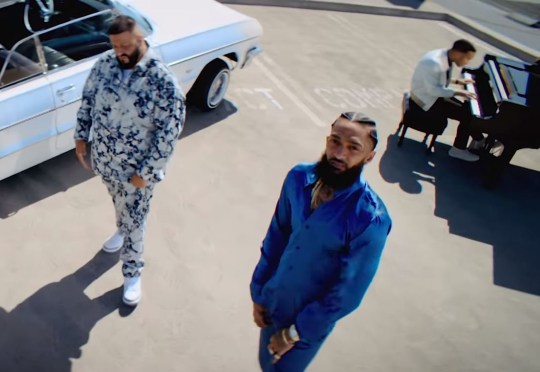 Nipsey Hussle delivers poignant lyrics in final music video