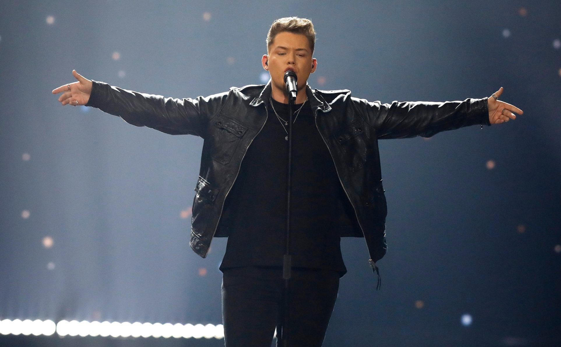 United Kingdom finish in last place at Eurovision as Michael Rice receives 16 points