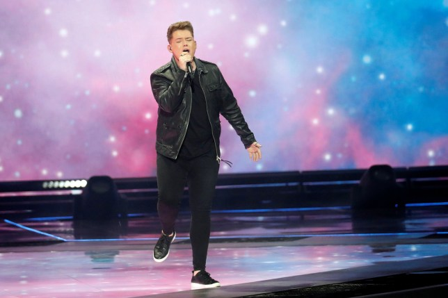 Participant Michael Rice of United Kingdom performs during the Grand Final of the 2019 Eurovision Song Contest in Tel Aviv, Israel