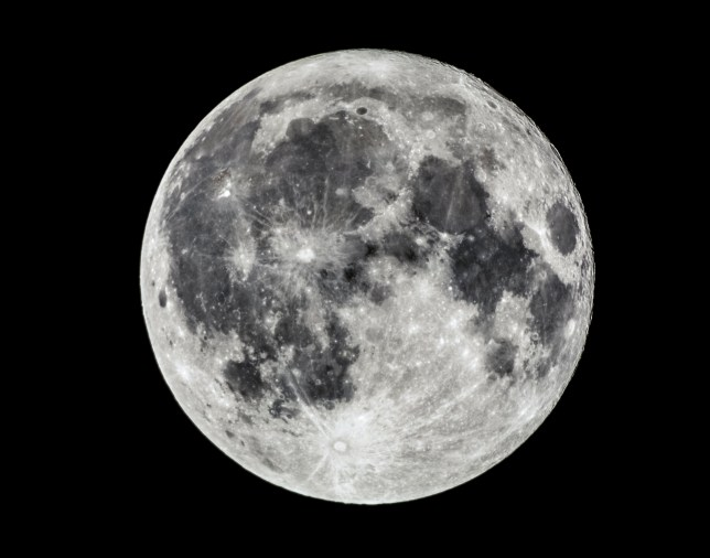 The moon will look ever-so-slightly fainter tonight (Getty Images)