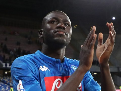 Manchester United told Kalidou Koulibaly will stay at Napoli for another season