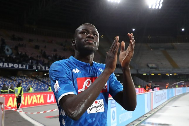 Kalidou Koulibaly is on Manchester United's radar