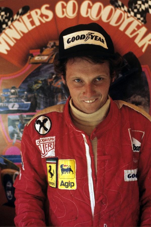 (FILE PHOTO) F1 Legend Niki Lauda Dies At 70 announced on May 21, 2019 Niki Lauda, Ferrari 312T, Grand Prix of France, Circuit Paul Ricard, 06 July 1975. (Photo by Bernard Cahier/Getty Images)